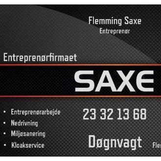 Entreprenørfirmaet Saxe opdaterede deres profilbilled